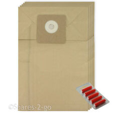 Dust Bags For Cleanfix Vacuum Cleaner S10 S12 Hoover Bag + Freshener 5 x