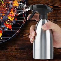 Küche Outdoor BBQ Öl Sprayer Ölsprüher Ölspender Grill Öl Sprühflasche Edelstahl