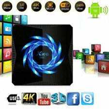 X96Q Max 4K Android 10.0 Core 4Gb+32Gb Tv Box 2.4/5G Wifi 3D Home Media Streamer