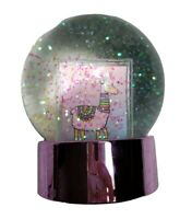 Rainbow Dreams Snow Globe Double Sided Photo Picture Frame Christmas Gift NEW