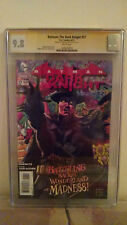 Batman: The Dark Knight #17 (Mad Hatter) CGC 9.8 AUTOGRAPHED by ETHAN VAN SCIVER