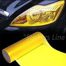 Pellicola adesiva colorata fari fanali auto moto camion GIALLO STANDARD 25x30