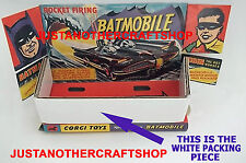 Corgi Toys 267 Batman Batmobile Inner Packing Piece for 1966 1st Edition version