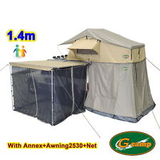 G CAMP 1.4m EXT ROOF TOP TENT TRAILER 4WD 4X4 CAMPING CAR RACK ANNEX AWNING NET
