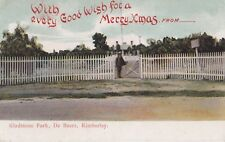 Vintage postcode Gladestone Park, De Beers, Kimberley South Africa
