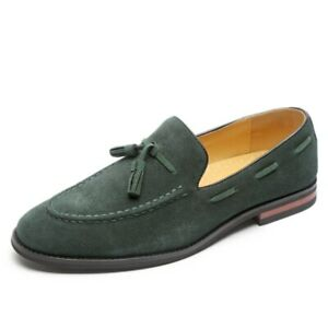 Men Shoes Leather Dress Loafers Shoes Casual Business Shoes Driving Shoes