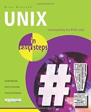 Unix in Easy Steps,PB,Mike McGrath - NEW