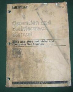 CAT CATERPILLAR 3054 3056 ENGINE OPERATION & MAINTENANCE MANUAL 4ZK 6FK 7AK 1ML