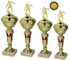 Pokale 4er Fußballpokale  inkl. Gravur (P800-GR-F-5-8)