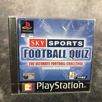 Sky Sports Football Quiz PS1 PlayStation 1 PAL Game NEW Sealed Kirsty Gallacher