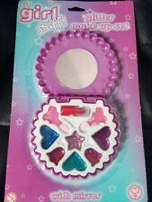 Si tratta di roba Ragazza Bambini Glitter make up set con specchio perfetto regalo di Natale Luccicante