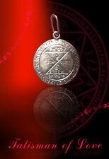 Unique Sterling Silver Talisman Love