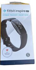 Fitbit Inspire HR Fitness Tracker - Black (FB413BKBK) - BRAND NEW