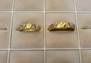 Trauringe Eheringe Verlobungsringe Gold 585er 7,4g ! Ringe