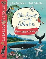 The Snail and the Whale Sticker Book, Donaldson, Julia , Acceptable | Fast Deliv