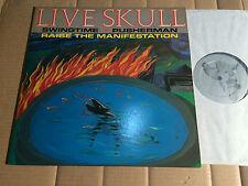 "LIVE SKULL - PUSHERMAN - 3-TRACK-12""-EP - HOMESTEAD HMS 080 - USA 1986"