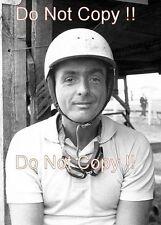 Phil Hill Ferrari F1 portugués Grand Prix 1960 fotografía de retrato