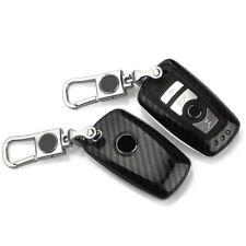 Carbon Fiber Car Key Cover For BMW 1 2 3 5 7 SERIES F10 F20 F30 335 328 535 650