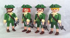 Playmobil 4 Musketiere Wache Garde Adel Franz. Soldat Ritter Seefahrer Marine Cu