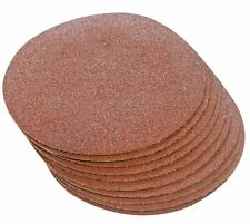 180mm SANDING DISCS MIXED GRIT HOOK & LOOP  5 x 40 GRIT 5 X 80 GRIT