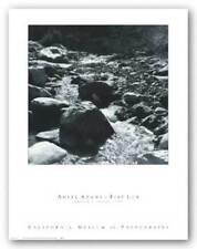Mountain Stream Ansel Adams Art Print 19x19