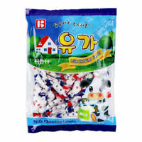 Korean Famous Milk Chewing Candy 600g Snack Nutricious Soft Condensed Milk A_r