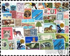 Central America : 100 Different Stamps Collection