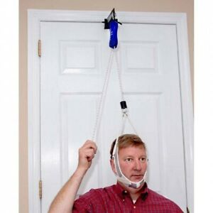 Neckpro ll Over Door Cervical Neck Traction Device - Reduces Neck Pain Stress