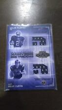 """WILLIS MCGAHEE KEVIN CURTIS 2003 PLAYOFF HONORS """"ROOKIE TANDEMS"""" DUAL JERSEY RC!"""
