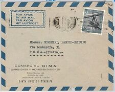 SPAIN -  POSTAL HISTORY -  COVER -   BIRDS / AIRPLANES 1962