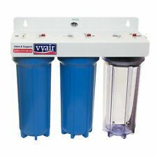 "VYAIR 10"" 3-Stage Pond Dechlorinator Tap Water Filter for Ponds & Aquariums"