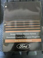 2006 Ford Escape Mercury Mariner HYBRID Emissions Diagnosis PCM Service Manual