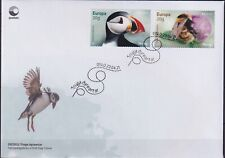 Norway 2021 Europa CEPT, Fauna, Insects, Bees, Birds, Endangered Wildlife FDC