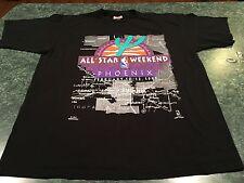 Vintage 1995 PHOENIX ALL-STAR Weekend NBA Basketball Throwback T-Shirt Size 2XL