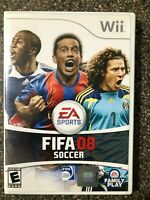 FIFA Soccer 08 - Nintendo Wii - Complete w/ Manual - Tested - Free Ship