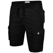 Mens Cargo Shorts Stallion Chino Casual Combat Summer Cotton New Work Half Pants