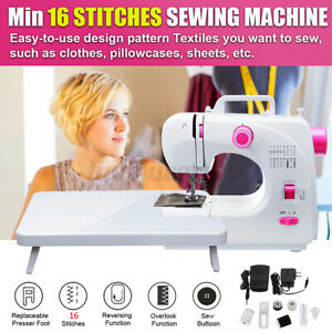 Upgraded Electric Multi-Function Electric Sewing Machine Portable Desktop Home