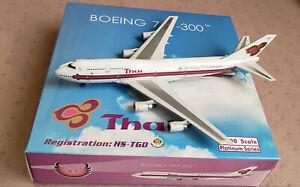 Phoenix 747-300 Thai Airways HS-TGD The Kings 72nd Celebration in 1:400