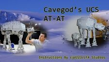 Lego Cavegod UCS AT-AT Instruction Manual-Over 1000 Pages!