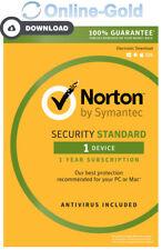 Norton (Internet) Security 2018 - 1 utilisateur / 1 an clé d'activation - EU/FR