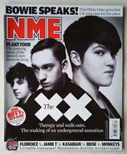 DAVID BOWIE RARE, The XX, NME Magazine 30 January 2010, FLORENCE BIFFY CLYRO
