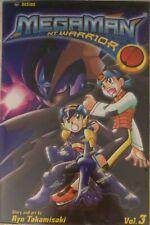 Comic Manga MegaMan Mega Man NT Warrior Tomo vol. 3 English Inglés