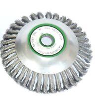 CHM GmbH® Unkrautbürste Motorsense Freischneider 200 x 25,4 mm - 3 PS geeignet