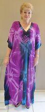 Kaftan / Caftan dress long length plus size 8-14 Grecian Fall