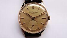 GIRARD PERREGAUX 18k gold oversize vintage watch handwinder