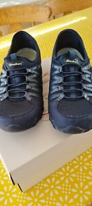 Sketchers Blue Size 5 Ladies Running Shoes Excellent Condition