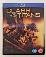 Clash Of The Titans Blu-Ray Holographic Cover NEW - SEALED