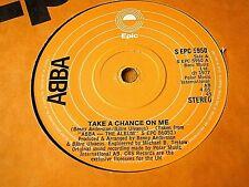 """ABBA - TAKE A CHANCE ON ME  7"""" VINYL"""