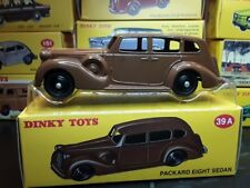 Dinky Toys Packard Eight Sedan 39A  Metal in scatola [t35]