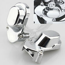 2 Pcs Chrome Rear Axle Cover For Harley Davidson Sportster XL 1200 883 2005-2014